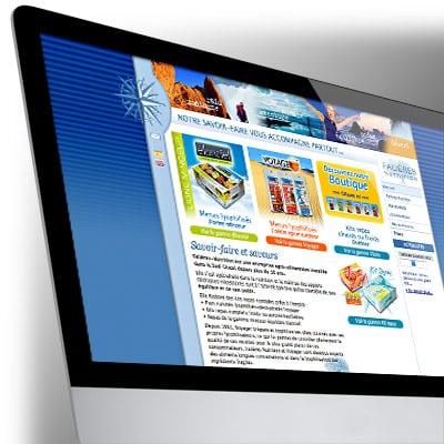 Site Internet Falières Nutrition