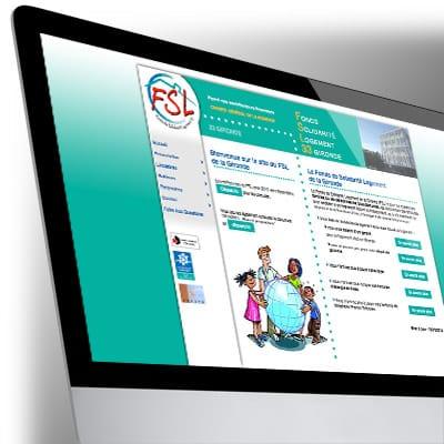Site Internet du FSL33