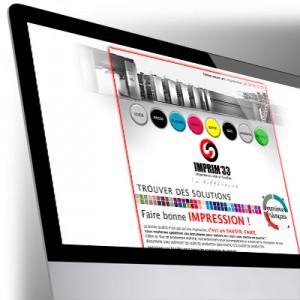Site Internet imprim'33