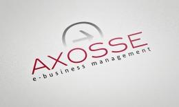 Identité de marque Axosse - e-business