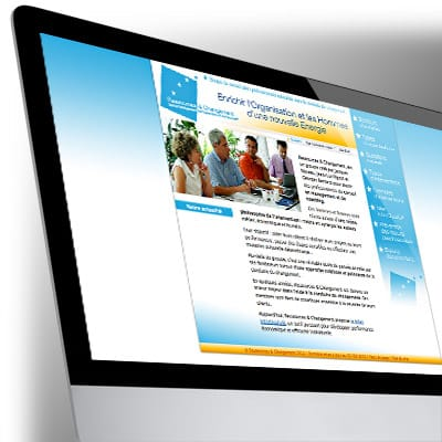 Site Internet Ressources & Changement