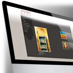 Site Internet pour Serge Amarger