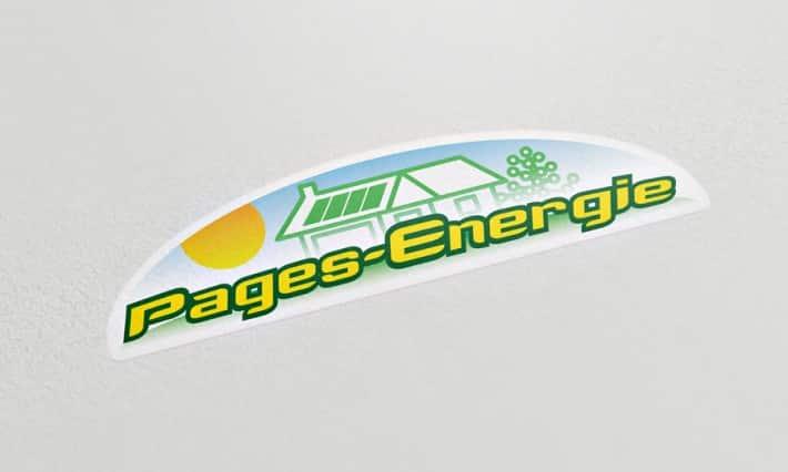 Identité de marque Pages-Energie
