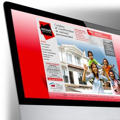 Site Internet Nicolas Constructions