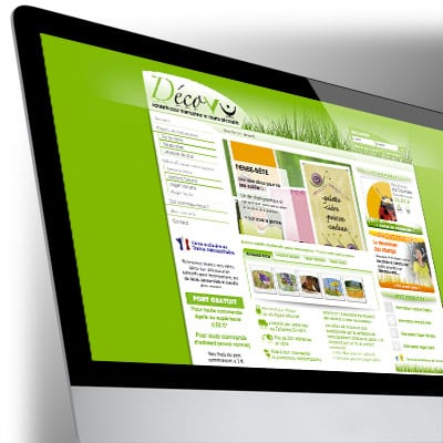 Site boutique e-commerce Décovu