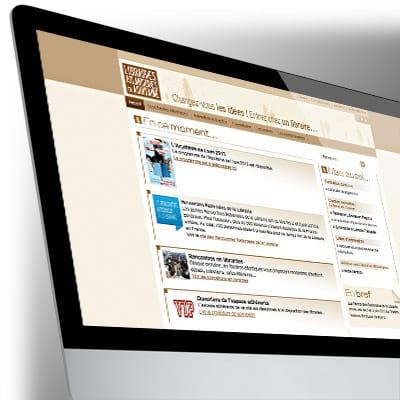 Site Internet des Librairies Atlantiques