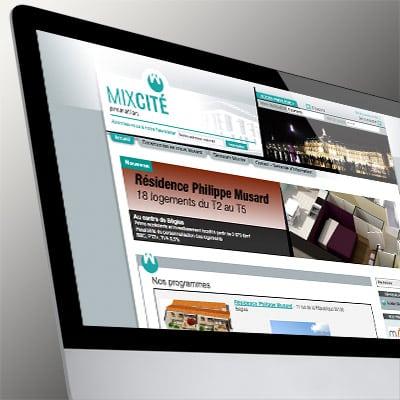 Site Internet de MixCité