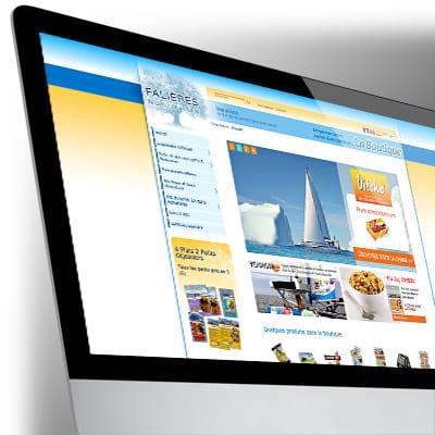 Site e-commerce pour Falières Nutrition