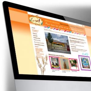 Site Internet de la Boulangerie-Pâtisserie Lenoël
