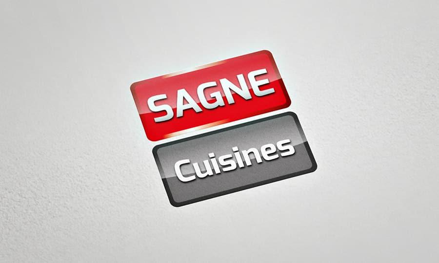 Identité de marque SAGNE Cuisines