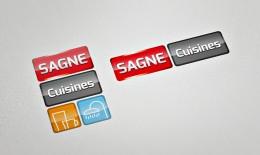 Autres dispositions du logotype SAGNE Cuisines