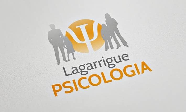 Identité de marque Lagarrigue Psicologia