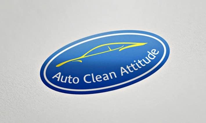 Logotype Auto Clean Attitude