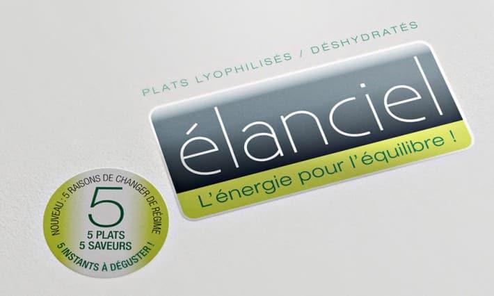 Identité de marque Elanciel pour Falières Nutrition
