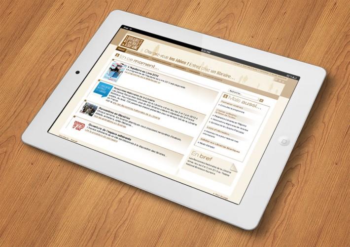 Site internet des Librairies Atlantiques - Propulsé par Joomla