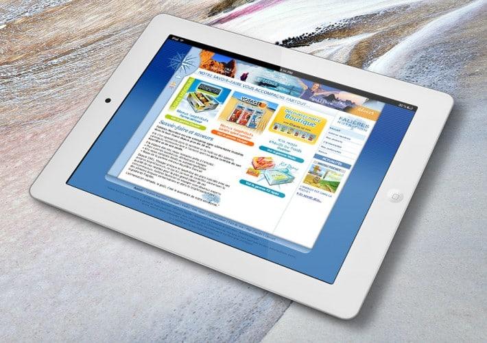 Site internet Falières Nutrition - Site statique
