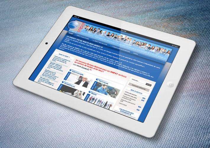 Site Internet SNIPAT - Site propulsé par Joomla