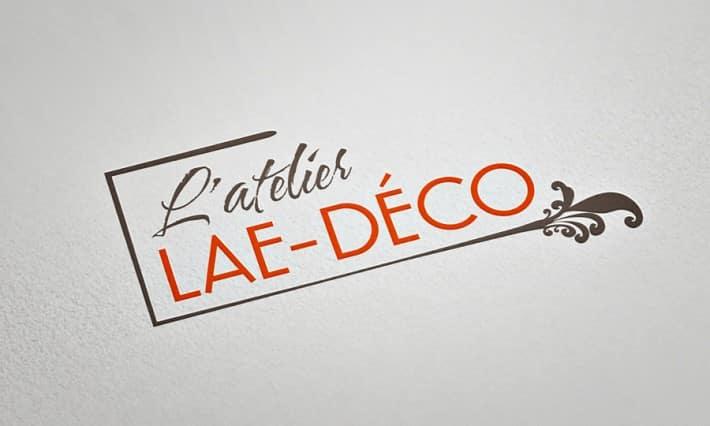 Logotype LAE-DÉCO - Peinture et décoration