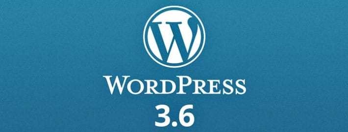 Nouvelle version de WordPress : 3.6