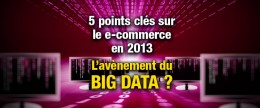 Le Big Data et le e-commerce en 2013