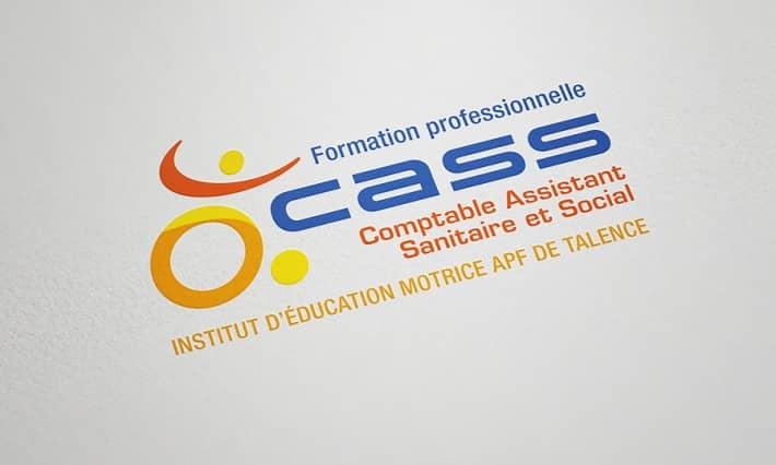 Logotype CASS pour l'IEM de Talence