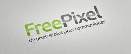 Nouveau logotype FreePixel