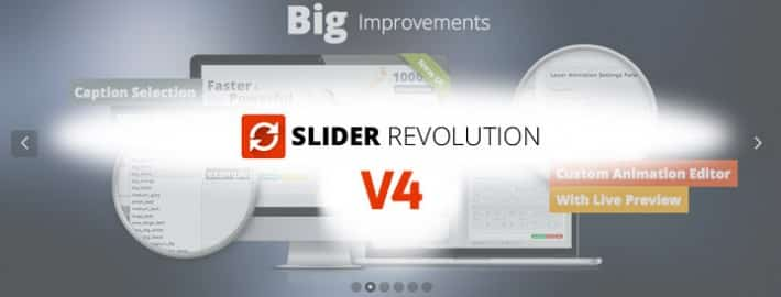 Nouvelle version 4 pour le Revolution Slider