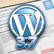 Nouvelle version WordPress 3.7