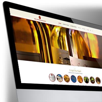 Site Internet des Vignobles du Hayot