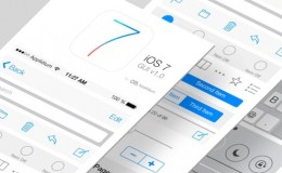 Interface iOS7 Flat Design