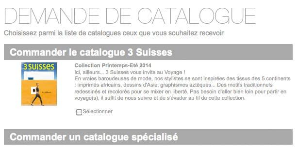 Le catalogue des 3 suisses passe au num rique - Les 3 suisses catalogue ...