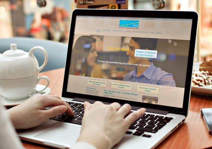 Site internet des Thérapies de l'IFAS