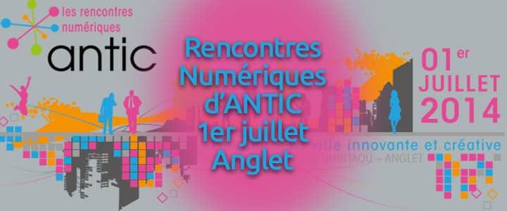 Rencontres numeriques anglet