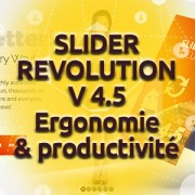 ouvelle version 4.5 du Slider Revolution