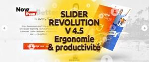 ouvelle version 4.5 du Slider Revolution