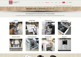 Page pour les meubles bas et armoire