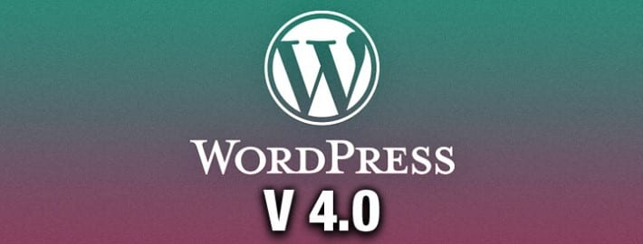Nouvelle version 4.0 de WordPress