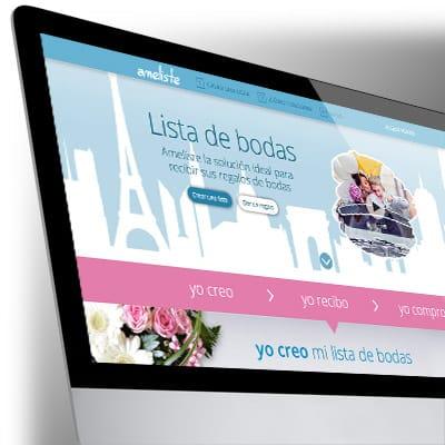 Webdesign du site Internet Ameliste