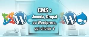 Les CMS : Joomla - Drupal - WordPress