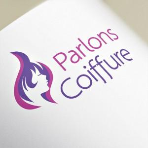 Logotype Parlons Coiffure