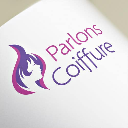 Logotype Parlons Coiffure