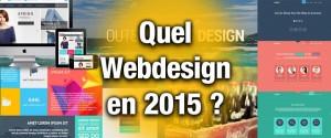 Quel webdesign en 2015 ?