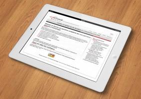 Site Concrete5 pour Crescendo Technologies