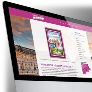 Site Internet Étudiant à Bordeaux