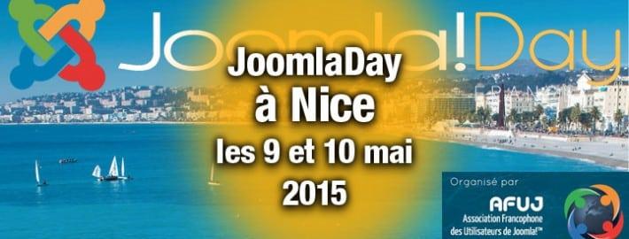 JoomlaDay - Mai 2015 à Nice