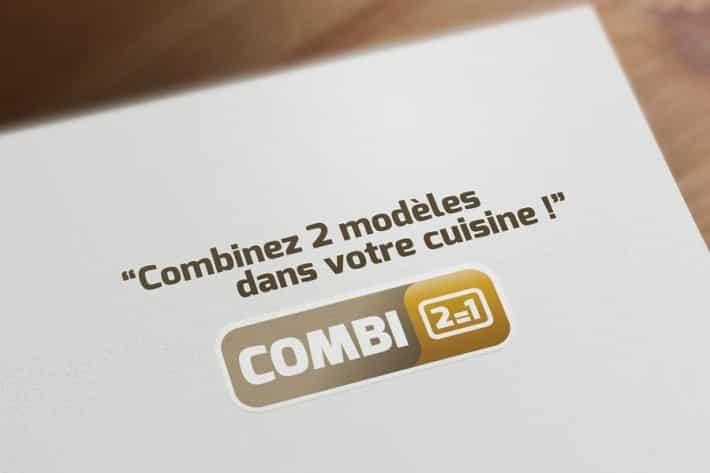 Logo Combi 2=1 pour SAGNE Cuisines