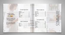 Catalogue de cuisine SAGNE - Sommaire