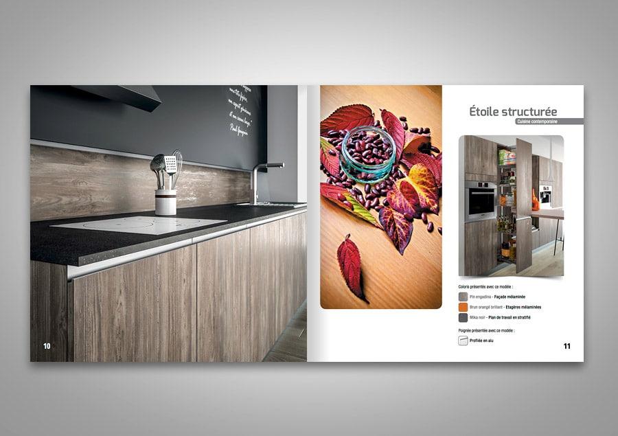Catalogue de cuisine SAGNE  Page cuisine