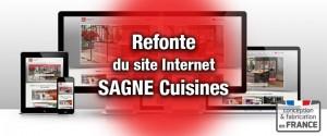 Nouveau site Internet SAGNE Cuisines