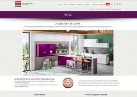 Page présentation modèle cuisine